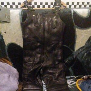 Motorcycle riding overalls size xsmall